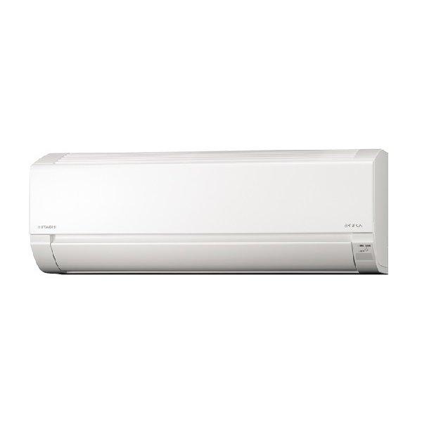 日立 ルームエアコン 6畳用白くまくん RAS-W22L オートオフ機能搭載