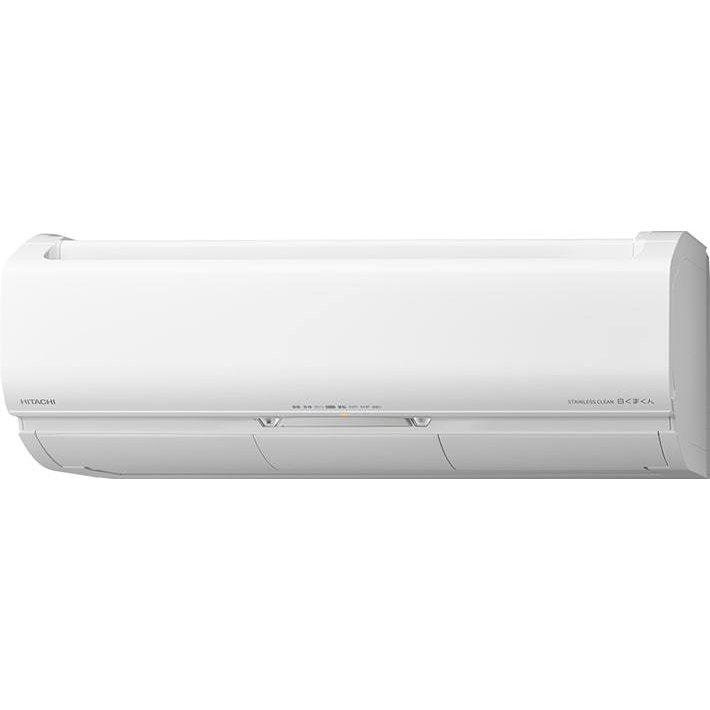 日立 ルームエアコン ステンレス・クリーン 白くまくん 6畳用Xシリーズ RAS-XJ22L