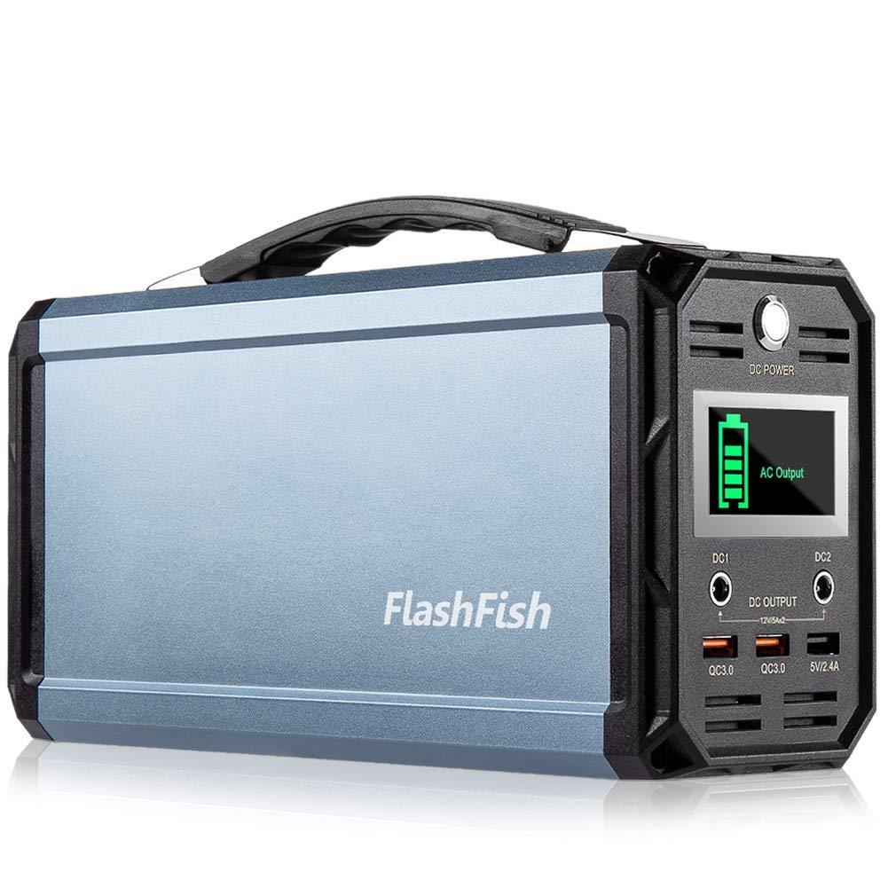 60000mAh/222Wh 純正弦波FlashFish ポータブル電源