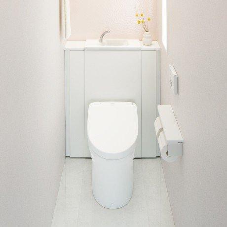 TOTO キャビネット一体型トイレレストパル