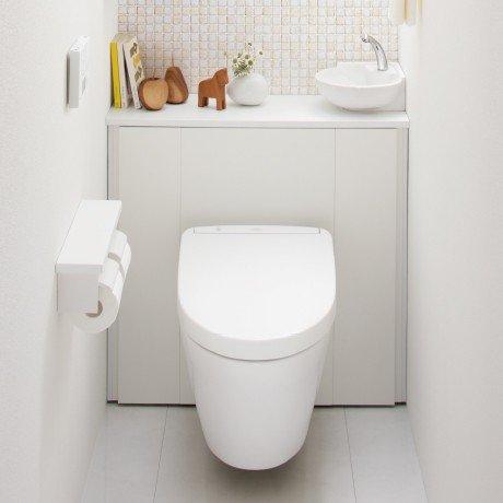 TOTO キャビネット一体型トイレレストパルF