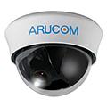 家庭用防犯カメラ 広範囲に撮影可能なドーム型ARUCOM「AHD高画質 屋内用広角ドームカメラ」