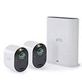 家庭用防犯カメラ 設置の自由度が高い無線Arlo「Arlo Ultra ワイヤレスセキュリティカメラシステム2台セット」